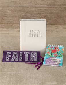 gifts: NLT Bible and Notepad Gift Set!
