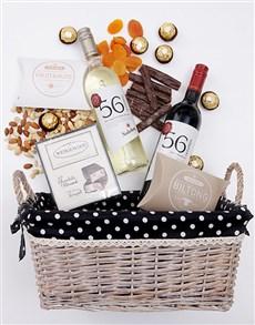 gifts: Wine Gourmet Snack Basket!