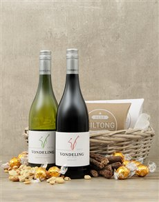 gifts: Wine Duo Snack Basket!