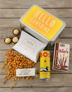 gifts: Hello Sunshine Snack Tin!