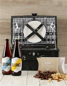 gifts: Craft Beer Picnic Basket!