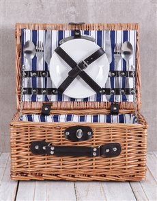 gifts: Striped Picnic Basket!