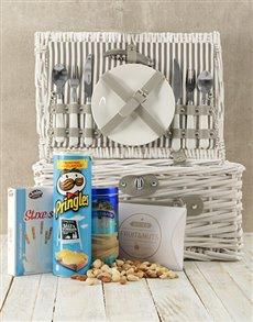 gifts: Blue Skies Picnic Basket!