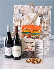 gifts: Golden Sunset Picnic Basket!