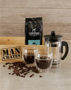 gifts: Coffee Craze Man Crate!