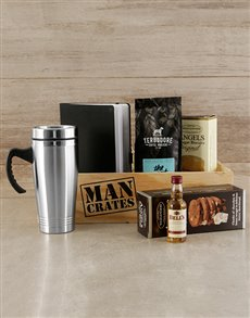 gifts: Sip, Snack and Write Man Crate!