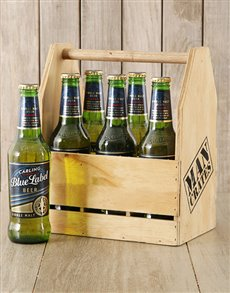 gifts: Carling Blue Label Man Crate!