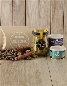 best-sellers: Biltong Olives and Pate Gift!
