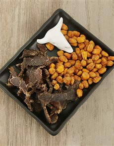 gifts: Ceramic Factory Biltong Plate!