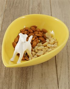 gifts: Ceramic Factory Snack Bowl!