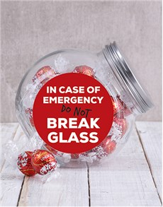 gifts: In Case of Emergency Candy Jar!
