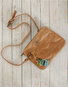 gifts: Peppertree Leather Clutch Sling Bag!