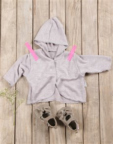 gifts: Baby Girl Cardigan & Shoes Gift Set!