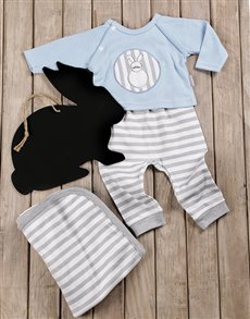 gifts: Some Bunny Loves You Baby Boy Gift Set!
