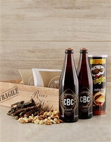 gifts: Lager Beer Lover's Booze Crate!