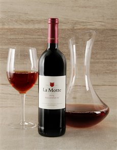 gifts: La Motte and Decanter Hamper!