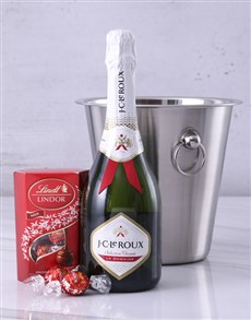 gifts: JC Le Roux Lindt and Ice Bucket Surprise!