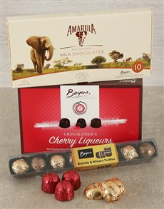 gifts: Beyers Alcohol Chocolate Assortment!