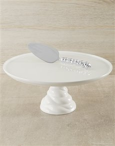 gifts: Carrol Boyes Cake Stand!