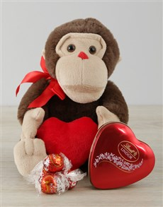 gifts: Monkey Love and Lindt Gift!
