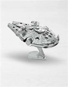 gifts: Metal Earth 3D Millennium Falcon!