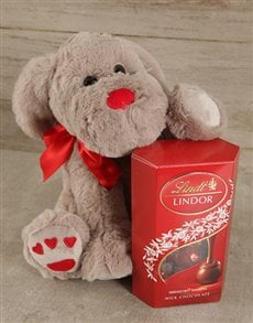 Puppy Love Lindor Gift