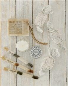 gifts: Organic Bath & Nougat Gift Basket!