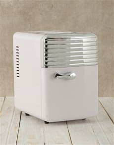 gifts: White Desk Fridge!
