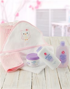 gifts: Baby Girl Bath Time Gift!