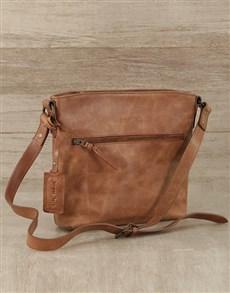 gifts: Jinger Jack Leather Orlando Crossbody Bag!