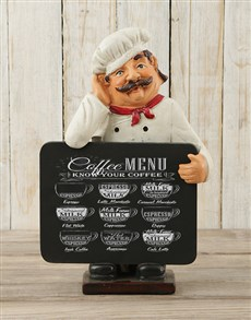 gifts: Chef Chalkboard!