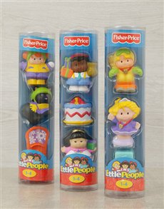 gifts: Fisher Price Assorted Little People Toys!