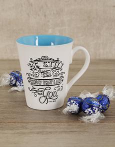 gifts: Be Still Mug Hamper!