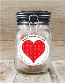 gifts: Romantic Word Search Candy Jar!