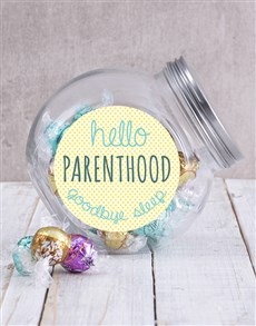 gifts: Hello Parenthood Candy Jar!