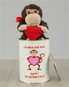 gifts: Wild For You Monkey Tin!