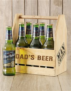 gifts: Dads Carling Beer Caddy!