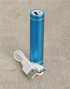 gifts: 1800mAh Blue Powerbank!