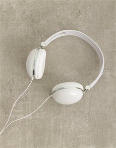 gifts: White Swiss Cougar Headphones!