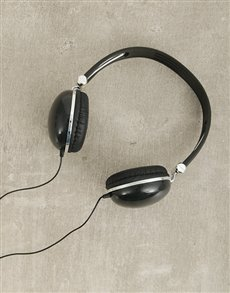 gifts: Black Swiss Cougar Headphones!