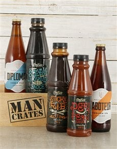 gifts: Saucy Man Crate!