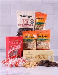 gifts: Red Snack Hamper!