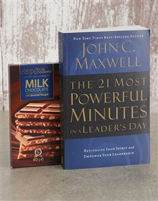gifts: Powerful Minutes Book and Sally Williams Slab!