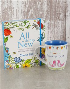 gifts: All Things New Devotional and Mug!