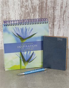 gifts: Inspiration Calender and Notebook!