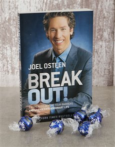 gifts: Break Out Book and Lindt Truffles!