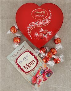 gifts: Promises for Mom Book and Lindt Truffles!