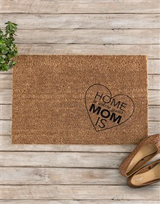 gifts: Where Mom Is Doormat!