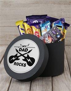 gifts: Dad Rocks Choc Hat Box!