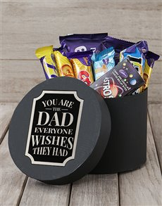 gifts: Wishful Dad Choc Hat Box!